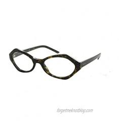 Prada MILLENNIALS PR12XV Eyeglass Frames 2AU1O1-53 - PR12XV-2AU1O1-53