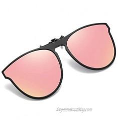 OopsMi Polarized Clip-on Sunglasses TR90 Frame Flip Up Driving Glasses For Prescription Glasses