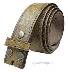 BS57 Classic Vintage Casual Jean Replacement Belt Strap or Belt 1-1/2(38mm) Wide Multi-Style Options