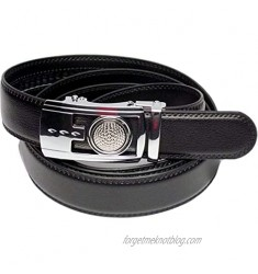Golf Marker Ratchet Belt with Personalized Ball Marker