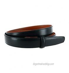 Trafalgar Men's Cortina Leather 25mm Belt Strap
