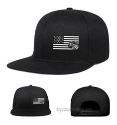 Negi Snapback Hat Flat Bill Hats Adjustable Black Baseball Cap for Men Women Trucker Dad caps