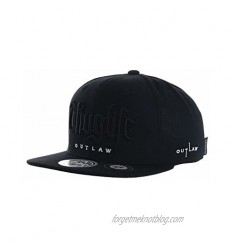WITHMOONS Snapback Hat Thuglife Embroidery Hiphop Baseball Cap AL2862
