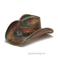 Stampede Hats Men's Ashley Vented Western Hat with Beadwork