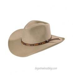 Stetson Men's Hutchins 3X Wool Felt Cowboy Hat - Swhutc403420 Stone