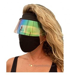 Intertwined Souls Sun Visor Hat - Face Shield - Sun Cap - UV Protection Hat - Hat for Travel  Hiking  Golf  Tennis  Outdoors