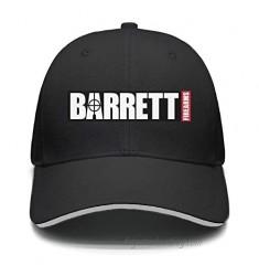 Wujjsoe Unisex Cool Cap Hip Hop Curved Snapback-Barrett-Firearms-Gun-Cotton Hat Relaxed