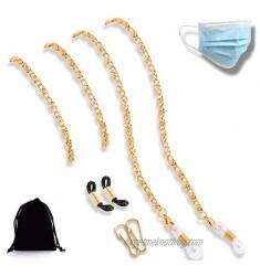 Face Mask Holder Copper Chain Strap - Face Mask Lanyards - Light Weight Strap For Mask - Eyeglasses Retainer Unisex