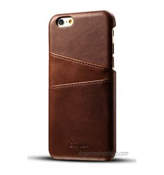 iPhone 6S Plus / 6 Plus Wallet Phone Card Holder Case Slim Leather Back Cover