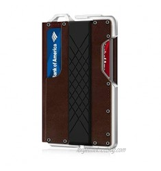 Genuine Leather Bifold Tactical Credit Card Wallets for Men RFID Blocking MURADIN