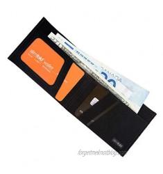 SlimFold Minimalist Wallet - RFID Option - Thin  Durable  and Waterproof Guaranteed - Made in USA - MICRO Size