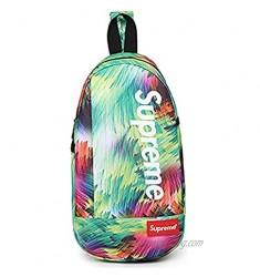 Fashion Pattern 3d Print Sling Bag Water Resistant Crossbody Personal Bag
