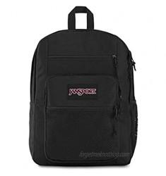 Jansport Big Campus Backpack - Lightweight 15-inch Laptop Bag Black