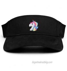 Armycrew Unicorn Patch Cotton Adjustable Visor Cap